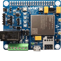 Cellular IoT Application HAT – LTE-M & NB-IoT & eGPRS