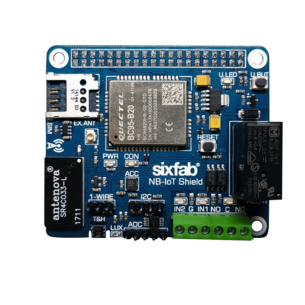 Raspberry Pi NB-IoT Shield