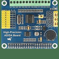High-Precision AD/DA Board at Raspberry Pi GPIO Pinout